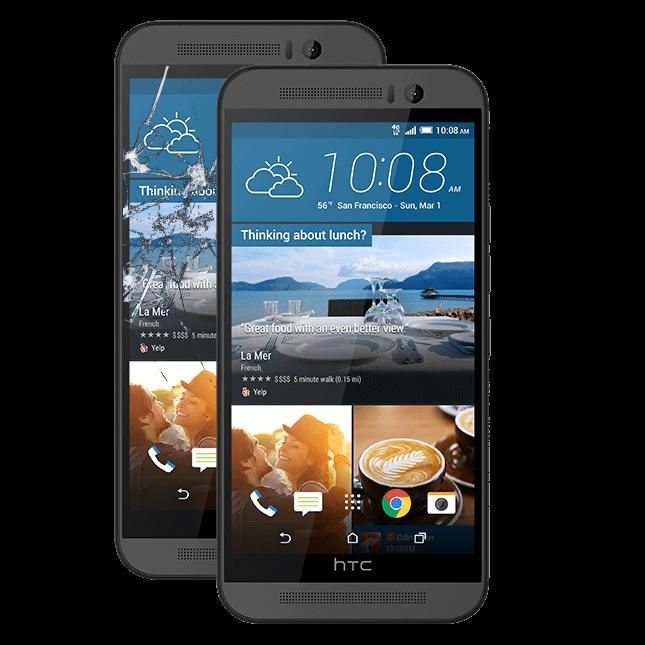 HTC M7 ekrano keitimas